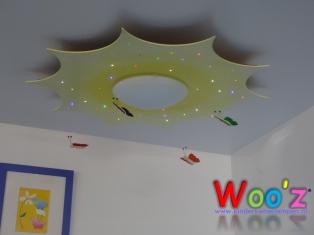 Kinderkamer lamp: Sun