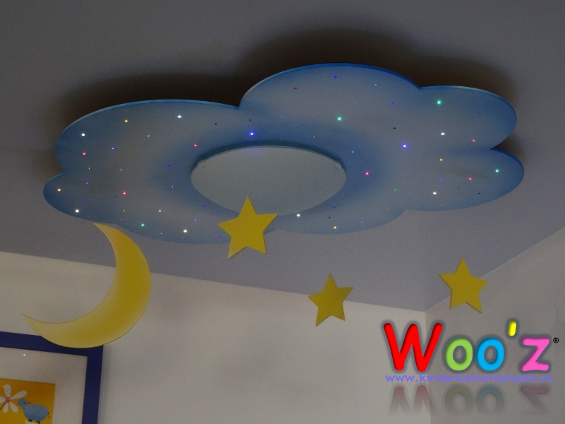 Lamp Kinderkamer Wit : Kinderkamer plafondlamp cloud white kinderkamerlampen