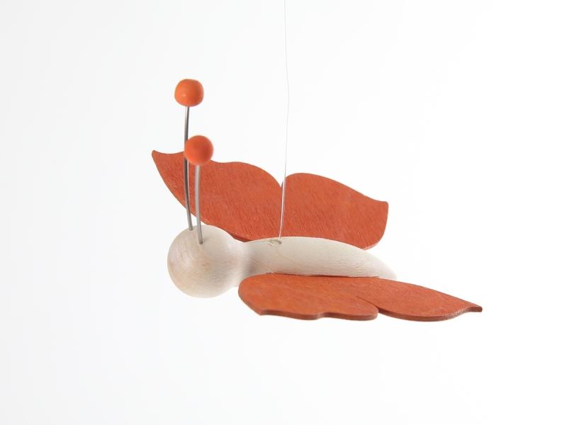Kinderkamer Lamp : Kinderkamer lamp accessoire: Houten vlinder (Oranje ...