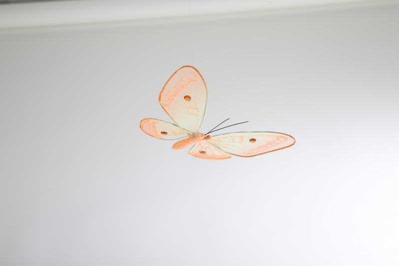 Kinderkamer Lamp : Kinderkamer lamp accessoire: Vlinder doorschijnend ...