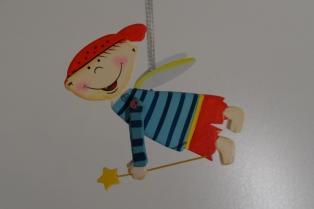 Kinderkamer lamp accessoire: Mobile jongen
