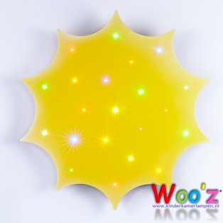 Kinderkamer lamp: Little Sun Yellow