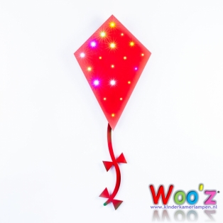 Kinderkamer lamp: Little Kite Red