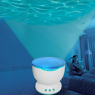 Kinderkamer lamp: Ocean Projector pot