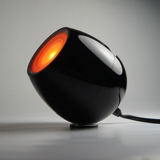 Mood lamp Zwart