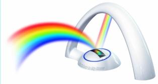 Regenboog op je kamer