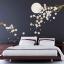 Wanddecoratie Bloesem in maanlicht