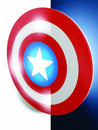 Kinderkamer lamp: Captain America