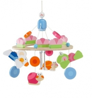Kinderkamer lamp accessoire: Mobile Happy splash jumbo